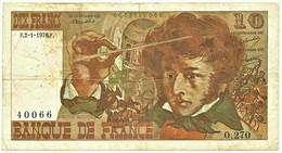 FRANCE - 10 Francs - 02.01.1976 - P 150.c - Serie O.270 - Hector Berlioz - 10 F 1972-1978 ''Berlioz''