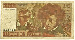 FRANCE - 10 Francs - 05.01.1976 - P 150.c - Serie J.285 - Hector Berlioz - 10 F 1972-1978 ''Berlioz''