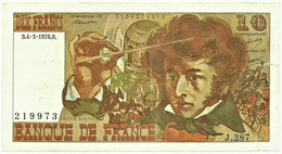 FRANCE - 10 Francs - 04.03.1976 - P 150.c - Serie J.287 - Hector Berlioz - 10 F 1972-1978 ''Berlioz''
