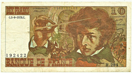 FRANCE - 10 Francs - 05.08.1976 - P 150.c - Serie H.294 - Hector Berlioz - 10 F 1972-1978 ''Berlioz''