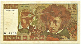 FRANCE - 10 Francs - 02.06.1977 - P 150.c - Serie C.298 - Hector Berlioz - 10 F 1972-1978 ''Berlioz''