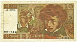 FRANCE - 10 Francs - 02.06.1977 - P 150.c - Serie F.298 - Hector Berlioz - 10 F 1972-1978 ''Berlioz''
