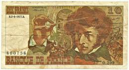 FRANCE - 10 Francs - 02.06.1977 - P 150.c - Serie O.299 - Hector Berlioz - 10 F 1972-1978 ''Berlioz''