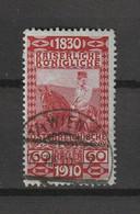 1910 FRANZ JOSEPH 80TH BIRTHDAY 60H FINE USED - Gebruikt