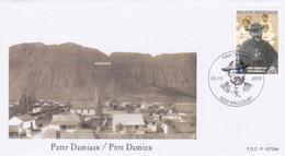 Enveloppe FDC 3969 Pater Damiaan Père Damien Walcourt - 2001-10