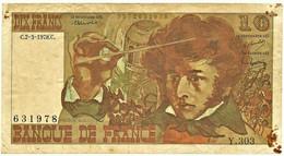 FRANCE - 10 Francs - 02.03.1978 - P 150.c - Serie Y.303 - Hector Berlioz - 10 F 1972-1978 ''Berlioz''
