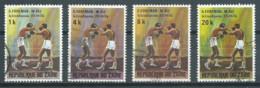 Zaïre YT N°843-844-845-847 Match De Boxe George Foreman - Mohamed Ali Oblitéré ° - 1971-79: Gebraucht
