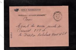LSC 1987 - Griffe PARIS EST TRANSBORDEMENT Et Cachet  PARIS GARE DE L'EST - TRANSBORDEMENT - 1961-....