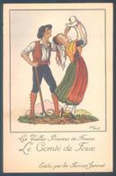 Lot De 4 Cartes Les Vieilles Provinces De France Illustrateur Jean Droit Publicité Farines Jammet - Unclassified