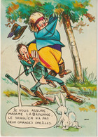 R6 : Humour : La  Chasse , Peur Du Lapin! Ilustrateur - Humour