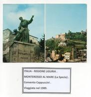 Monterosso Al Mare (La Spezia) - Convento Cappuccini - Viaggiata Nel 1989 - (FDC26369) - La Spezia
