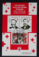 France 2020-Croix-Rouge Française Bloc Oblitéré - Gebraucht