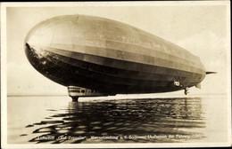 CPA Luftschiff Graf Zeppelin, LZ 127, Wasserlandung Auf Dem Bodensee - Unclassified