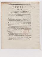 Rare Décret 1793 Numismatique Sur  Proces  Assignats  Avec Cachet Rouge R.F. N° 1283 - Historical Documents