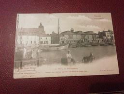 Ancienne Carte Postale  - Les Sables-d'olonne  - Le Port La Poissonnerie - Sables D'Olonne