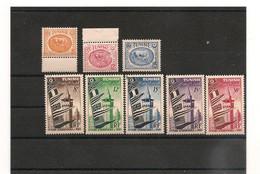 1950/53 .N° Y/T : 340A-343B-344A- 360/64** - Unclassified