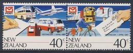 New Zealand Neuseeland 1987 Mi 990 YT 954 /5 SG 1421 /2 ** New Zealand Post Ltd. Vesting Day / Postgesellschaft - Post