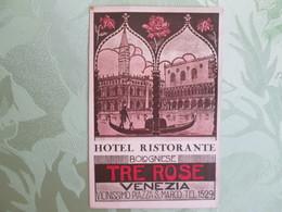 Hotel Ristorante Bolognese Tre Rose . Venezia - Venetië (Venice)