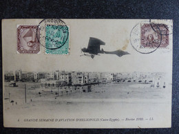 CPA Grande Semaine De L Aviation D HELIOPOLIS (Caire Egypte) Février 1910 - El Cairo