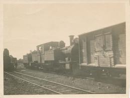 Snapshot 50/58 Chemin De Fer Train Travaux Ouvriers Railroad Cheminot Rail - Trains