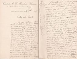 SAINT PIERRE SUR DIVES E MARCHAIS NOTAIRE LETTRE DOUBLE ANNEE 1916 - Unclassified
