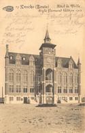 Knokke Zoute Hotel De Ville  Style Flamand Bati En 1912 K.D. FELDPOST Der 1. Marine-Div Duitsland    Barry 6710 - Knokke