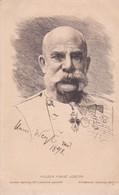 Portrait En Buste Du KAISER FRANZ JOSEPH . Künstler Radirung  N°13 Gezetzlich - Personajes