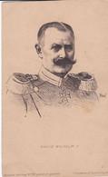 Portrait En Buste De KÖNIG WILHELM II - Personajes