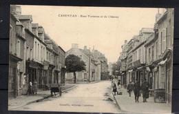 CPA 50  - CARENTAN   ( Ref 50 - 390 ) Rues Torteron Et Du Château - Carentan
