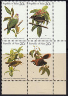 PALAU - Oiseaux - N° 5-8 - Palau