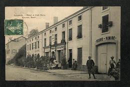 55 - LEROUVILLE - Hôtel Et Café Keck - 1911 - Lerouville