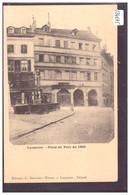 LAUSANNE - PLACE DU PONT EN 1869 - TB - VD Vaud