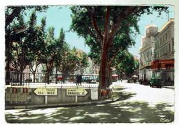 OLLIOULES - Place Jean-Jaurès - Route Nationale - Ollioules