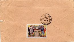 Timbre De Guerre Sur Enveloppe - PIEMONT 3ième Régiment 'd'INFANTERIE - Vignettes Militaires