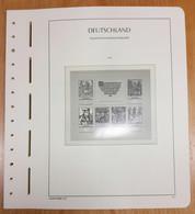 LEUCHTTURM Vordrucke DDR 1975/79 SF Gebraucht, Neuwertig (Z2357) - Pre-Impresas