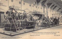 RARE Exposition Universelle Et Internationale De Bruxelles 1910  Magdebourg-Buckau R Wolf Hall Agricole   Barry 6770 - Bauwerke, Gebäude