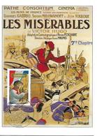 """3593 - GAVROCHE Sur Affiche Du Film """"Les Misérables"""" 1er Jour Au 30-08-2003 - 2000-09"""