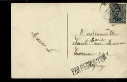 Carte Fantaisie  Obl. 31/12/21  + Griffe PAR PEPINSTER - Linear Postmarks