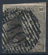 [O SUP] N° 1, Bien Margé Et Superbe Obl 'P40' Florennes - Cote: 160€ - 1849 Hombreras