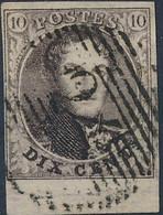 [O SUP] N° 6, Belles Grandes Marges Et Grand Bord De Feuille - 1851-1857 Medallones (6/8)