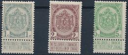 [** SUP] N° 81/83, Armoiries - Cote: 125€ - 1893-1907 Coat Of Arms