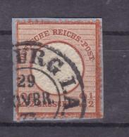 Adler Mit Großem Schild 2½  Gr.  Auf Kleinem Briefstück Mit Hufeisenstempel  - Non Classificati