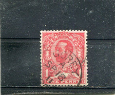 Yt 130 Anniversaire De L'avènement De George V 1911 - Usati