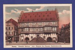 HANAU Rathaus 1920 - Très Très Bon état  - SA 812 - Hanau