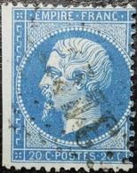 N°22. Oblitéré Losange G.C. Vendu En L'état. Voir Scan.... - 1862 Napoleon III
