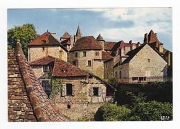 46 CARENNAC Vers Saint Céré Loubressac N°4 Belle Vue D'ensemble Le Haut Quercy VOIR DOS - Saint-Céré