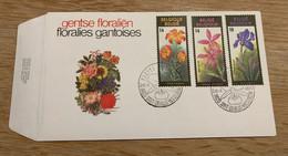FDC - Gentse Floralien - 1985 - Stempel Gent - 1981-90