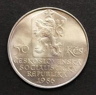Cecoslovacchia Czechoslovakia 50 KORUN 1986 Bratislava   D.1522 - Czechoslovakia