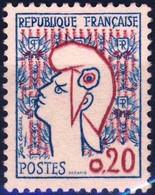 1282 Mariane De COCTEAU T1  NEUF **   ANNEE 1961 - 1961 Marianne De Cocteau