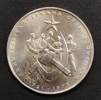 Cecoslovacchia Czechoslovakia 50 KORUN 1971 COMMUNIST PARTY  D.1155 - Czechoslovakia